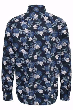 Matinique-Trostol B Flower Print-Dark Navy