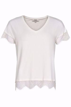 Cream-Conellia Tshirt-Chalk