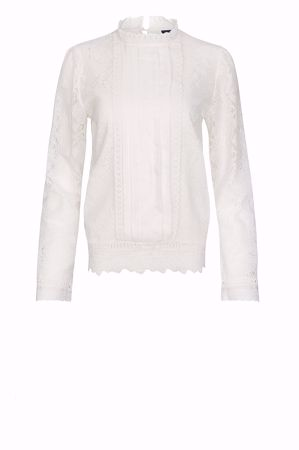 One Two & Luxzuz-Janey Blouse-Cream