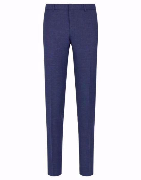 BRUUN & STENGADE-BS VITELLI, LIN PANTS-NAVY