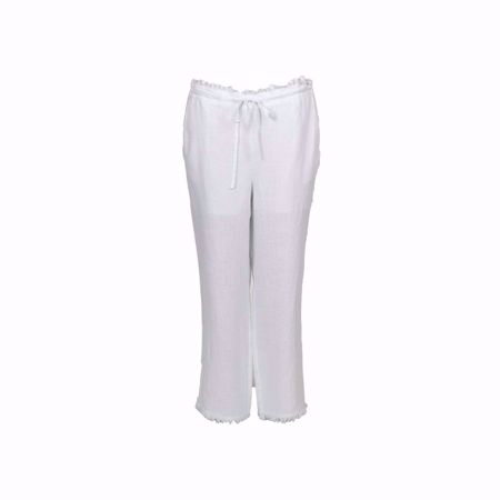 Isay-Beo Linenpant-White