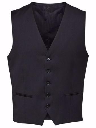 BILL VEST TIL DRESS - BLACK