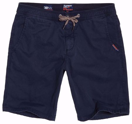 Superdry -Blå skjorts - Midnight Navy