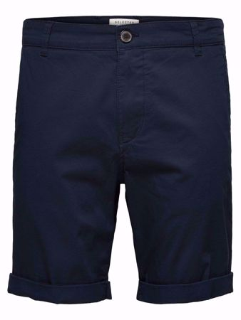 SELECTED HOMME- PARIS REGULAR FIT - SHORTS-DARK-SAPPHIRE