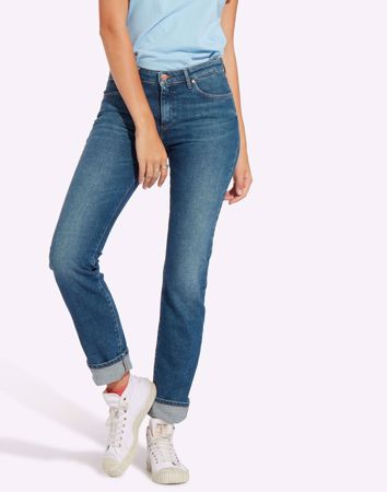 WRANGLER-STRAIGHT JEANS-YUCCA-VALLEY