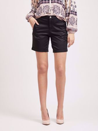 CHINO ENKEL SHORTS - BLACK