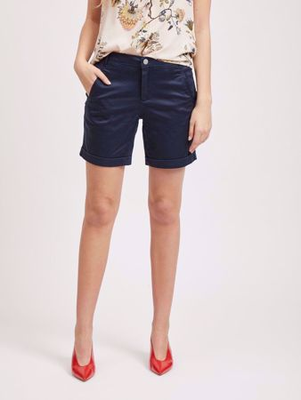 CHINO ENKEL SHORTS - TOTAL ECLIPSE