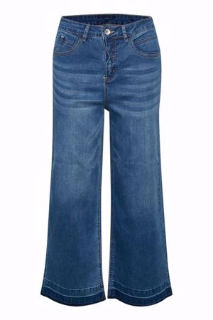 Cream-Colet Jeans   Audrey Fit-Rich Blue Denim