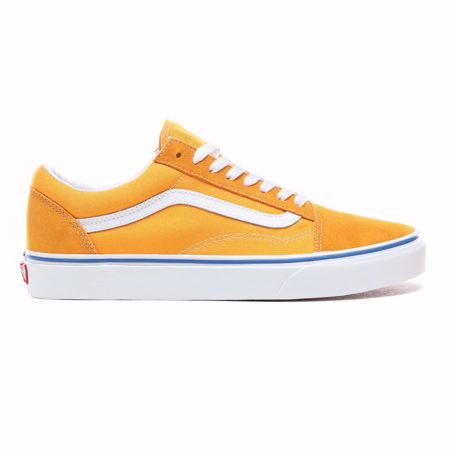 VANS-OLD SKOOL SHOES-(SUEDE/CANVAS)-ZINNIA/TRUE-WHITE