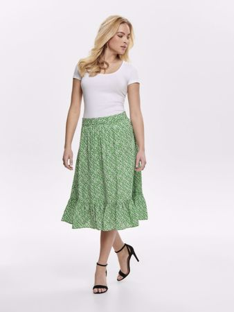 STAR FRILL SKJØRT - Medium Green