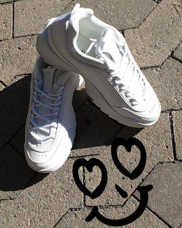 Duffy - Sneakers - Hvite og sorte