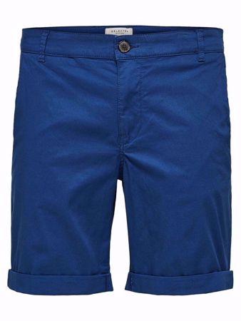 SELECTED HOMME-SLHPARIS REGULAR FIT - SHORTS-NAVY-PEONY