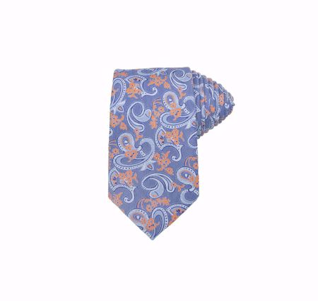 INTEX-SANTI SLIPS PAISLEY 7,0 CM ORANGE