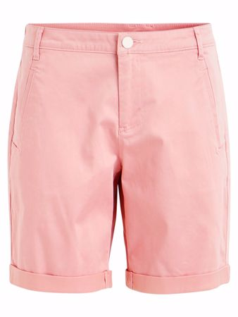VILA CHINO SHORTS - Brandied Apricot