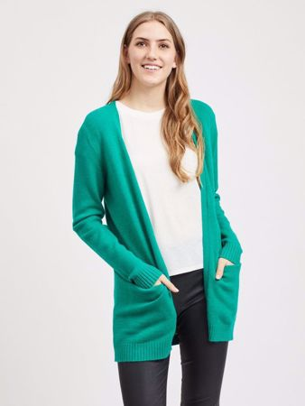 Vila - VIRIL CARDIGAN - Pepper Green