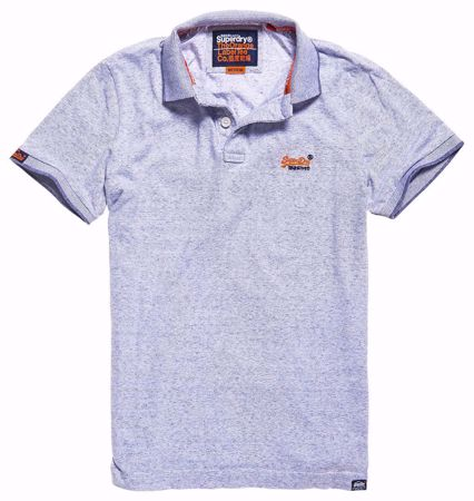 Superdry-Orange label jersey polo