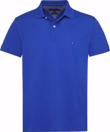 TOMMY HILFIGER-COTTON REGULAR FIT POLO-SURF-THE-WEB