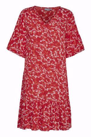 Fransa-FRDACAMPA  Dress-Fiery Red mix