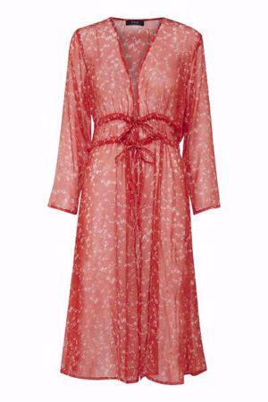 Fransa-FADIORGANAY  Kimono-Fiery Red mix