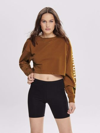 Bonnie CROPPED COLLEGE GENSER - SUGAR ALMOND