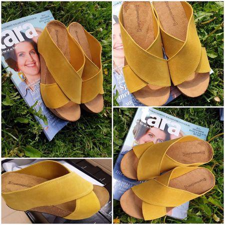 Copenhagen Shoes-FRANCES 19-Yellow