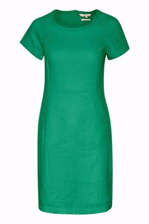 PART TWO-AUNDREAS DRESS-VERDANT-GREEN