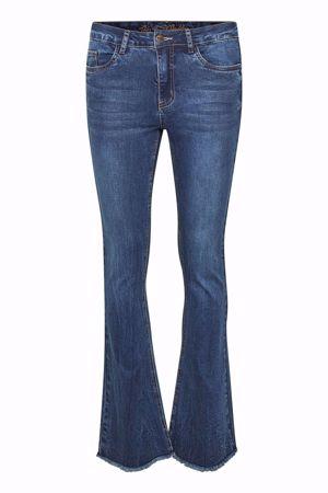 Culture-CUsasia Jeans Raw Edge-Blue Wash