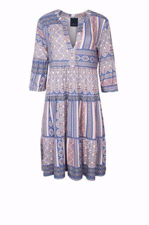One Two & Luxzuz-Larisa Dress-Blue blue