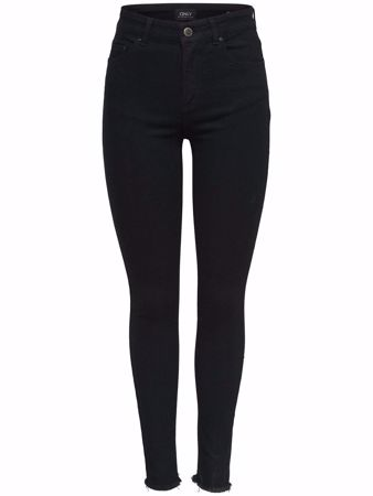 ONLY-BLUSH MID ANKLE SKINNY FIT JEANS-BLACK