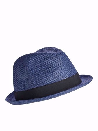 JACK&JONES-CLASSIC STRAWHAT HAT-NAVY-BLAZER