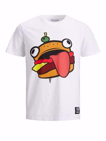 Jack&Jones-Fortnite tee-White Burger