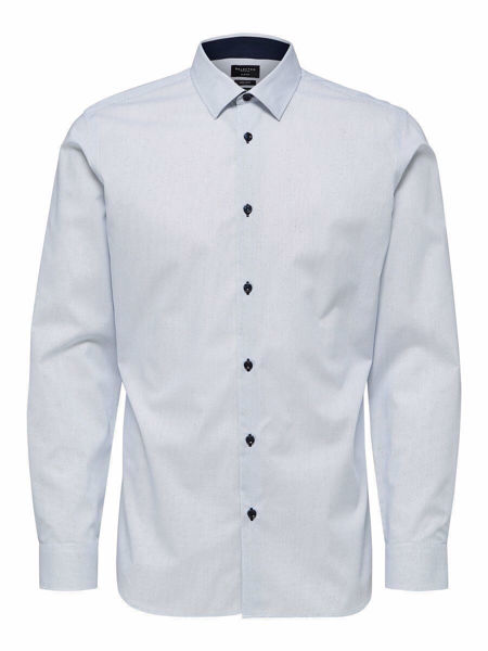 SELECTED HOMME-SLIM FIT FORMAL - SHIRT-BRIGHT-WHITE