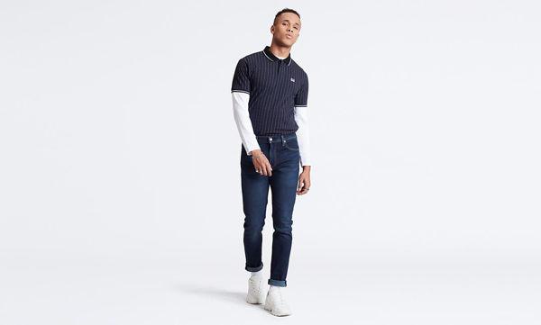 Blå Jeans from Levi's -512™ SLIM TAPER FIT -SAGE-DARK-INDIGO