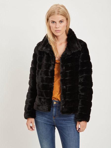 Vila Vifarry Faux Fur Jacket (Dame)