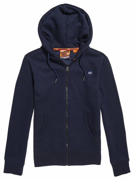 Blå Hettegensere from Superdry -Collective zip hood