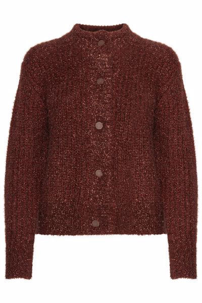 Brun Cardigans from B.Young -Cardigan-Kobber