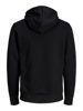 Svart Collegegenser from Jack&Jones -CARVING HETTE GENSER - BLACK