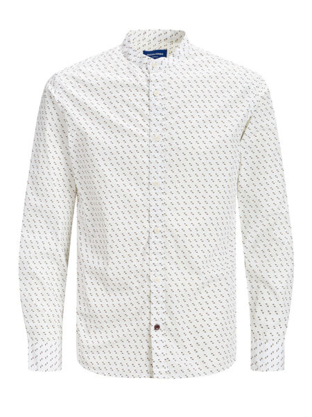 Hvit Skjorter from Jack&Jones -JUNIOR LOIK SHIRT LS