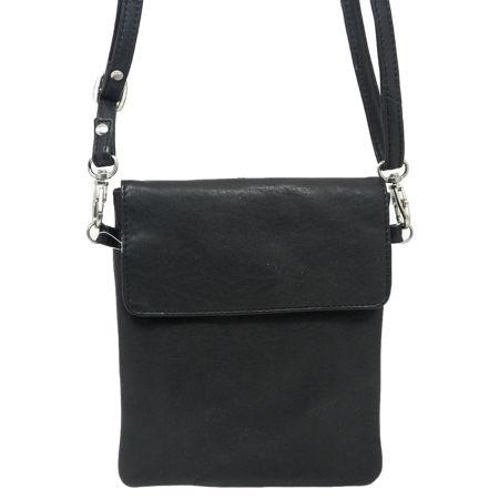 KVITFJELL HANDBAGS HAND BAGS BLACK VESKE CLUTCH Dameklær