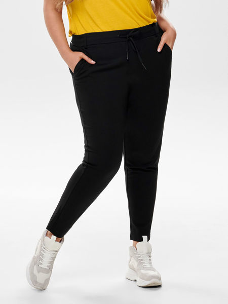 Curvy goldtrash (poptrash) bukser svart