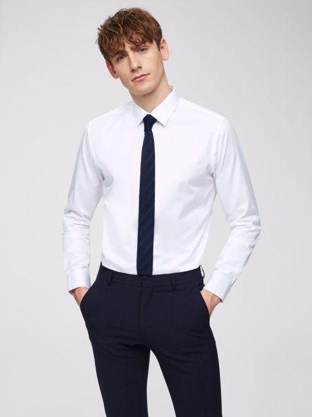 Feel slim fit skjorte white Vi:Ki dame herre barne