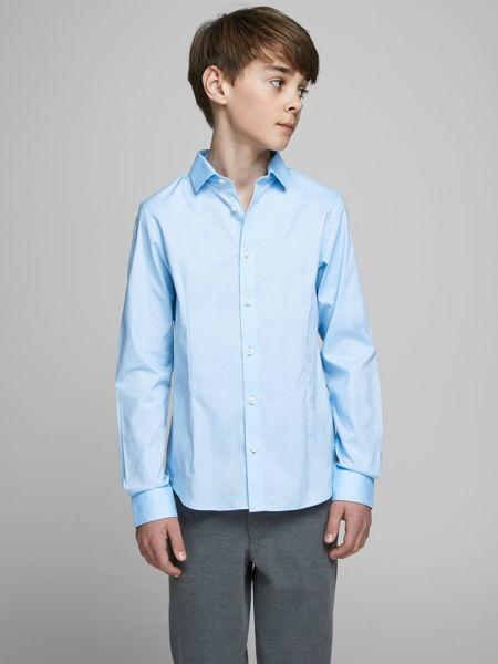 Skjorter og Tilbehør til Herre: Hvit skjorte til gutt med