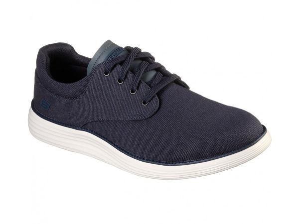 Casual sko, (Mørk blå)  Skechers  Sko - Sko Til Herre
