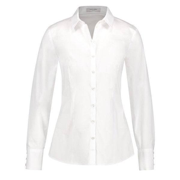 White Storskjorte  Tia  Skjorter & bluser - Dameklær er billig