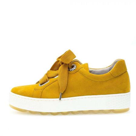 Tamaris LACE-UP - Båtsko - yellow