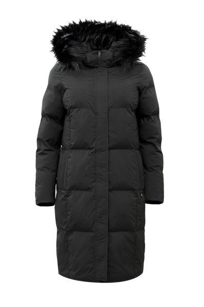 Vinterjakke med pelshette sort   Printinform AS