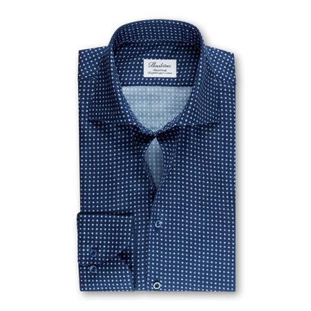 Slim Fit Skjorte Lyseblå Kontrast | Follestad