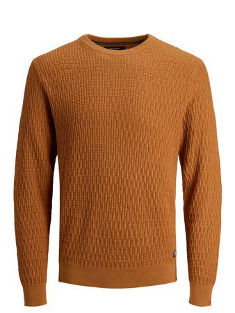 Strikket genser Mørk brun DAME | H&M NO